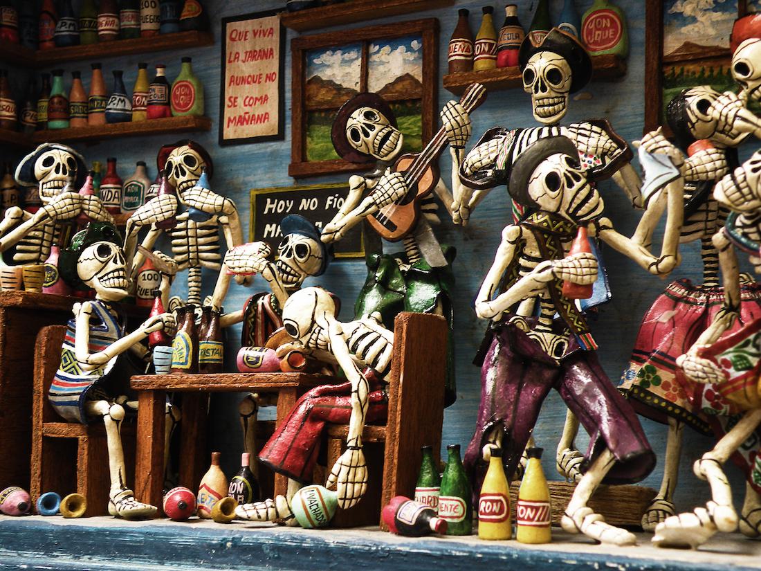Collection Dia De Los Muertos By Techgnotic On DeviantArt