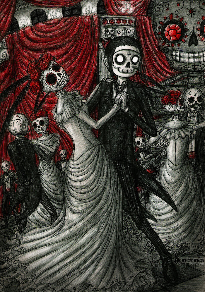 Dancing In Day Of The Deadby DemiseMAN