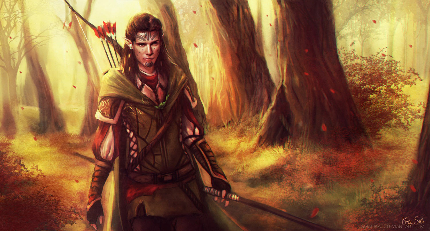 Collection: Amongst The Elves And Fae By Techgnotic On