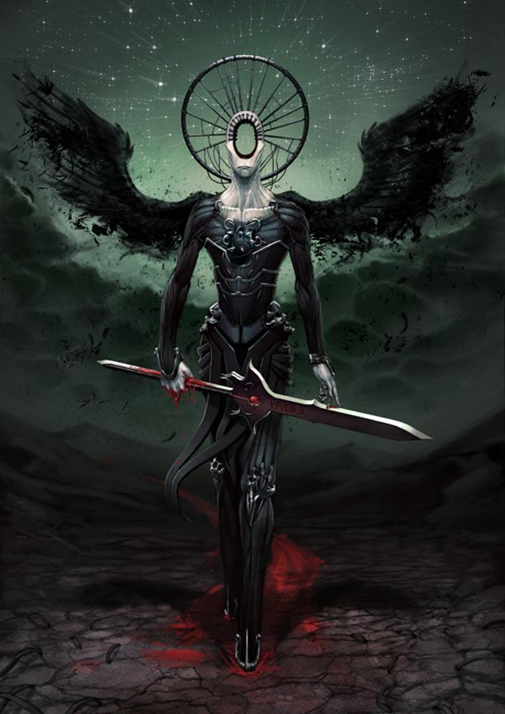 angels and demons battle art - photo #38