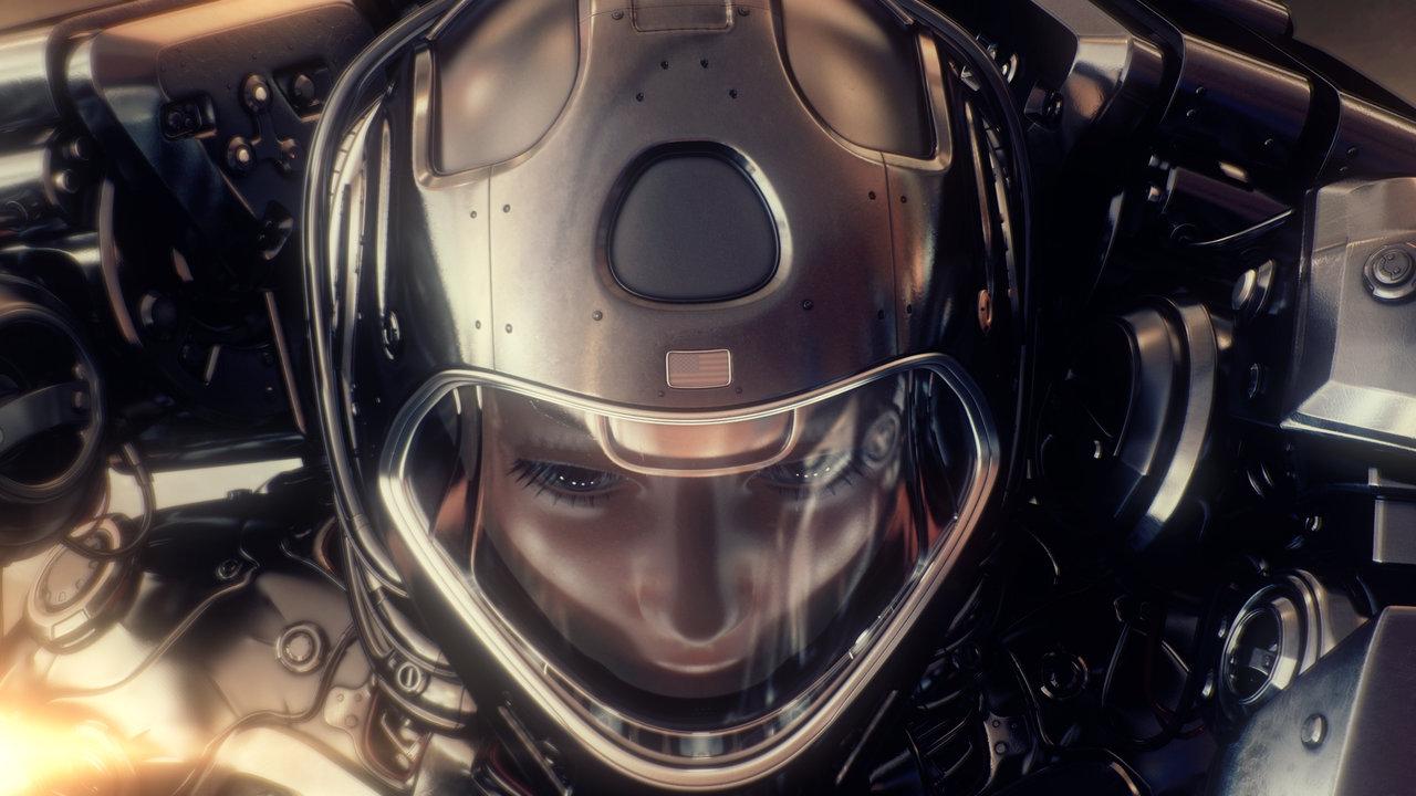 astronaut man alien girl - photo #12