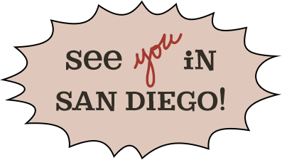 See You In San Diego!