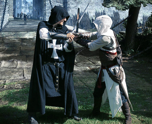 Cosplay Friday: Assassin's Creed by techgnotic on DeviantArt