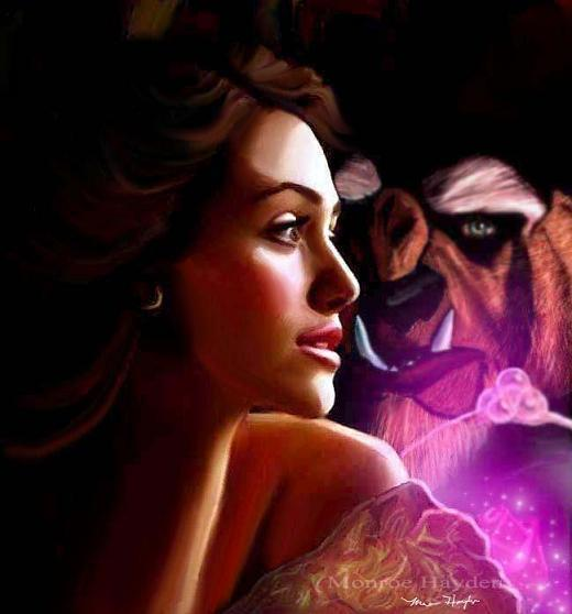 Fan Art Friday Beauty And The Beast By Techgnotic On