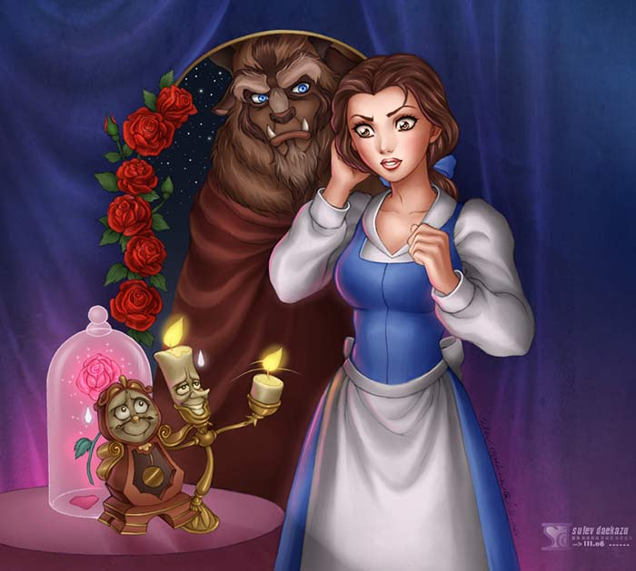 Fan Art Friday Beauty And The Beast By Techgnotic On DeviantArt