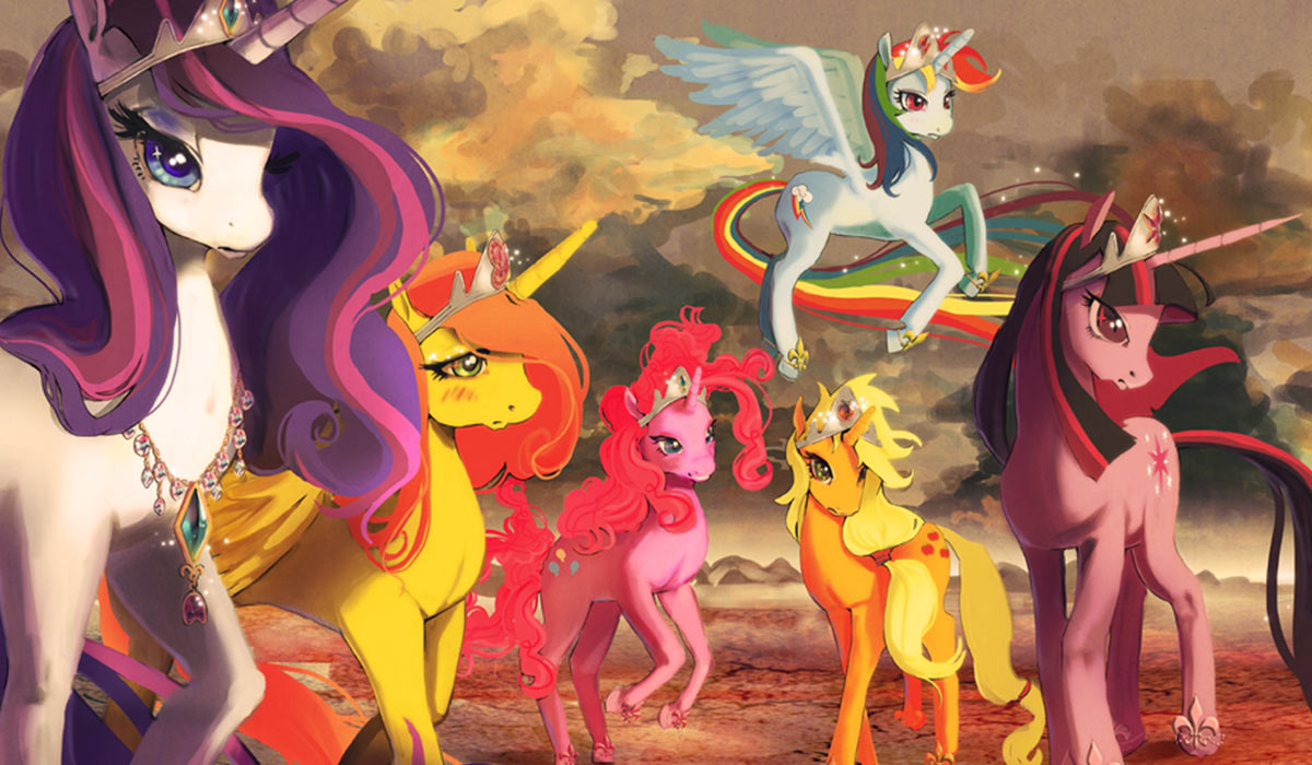 Image result for mlp amazing art