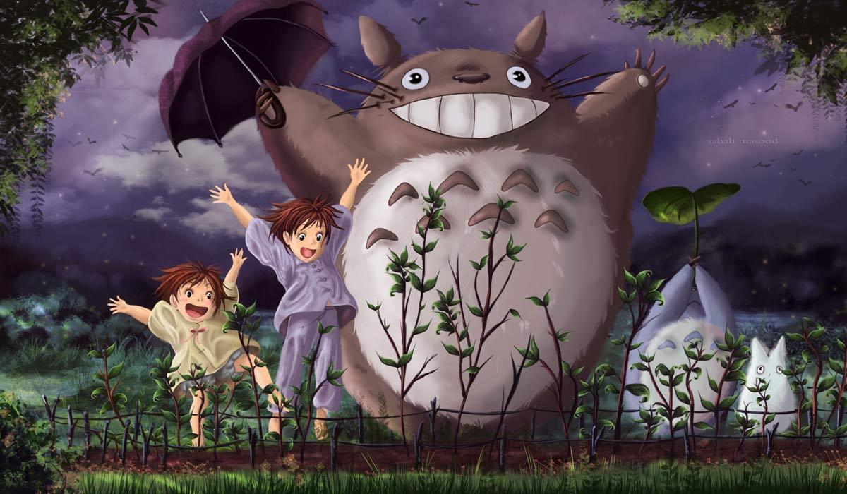 Movie Review Hayao Miyazaki My Neighbor Totoro By Techgnotic On