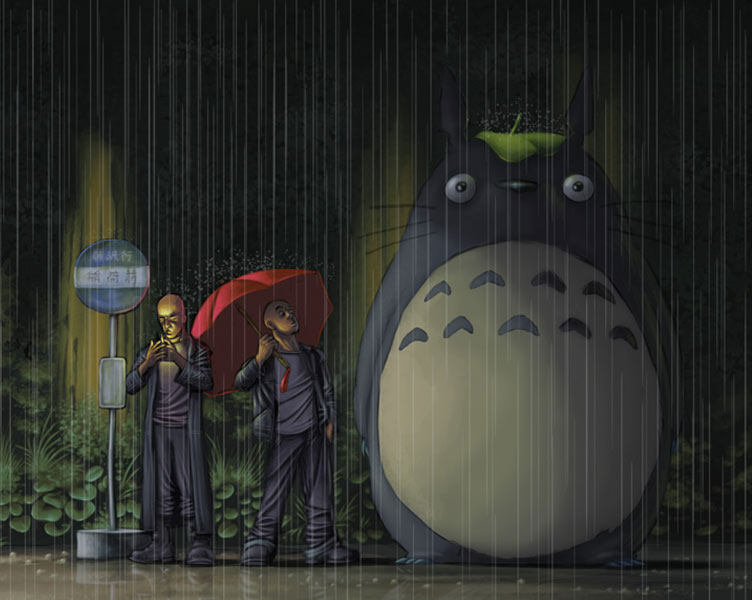 an overview of hayao miyazakis film my neighbor totoro My neighbor totoro (となりのトトロ, tonari no totoro) is a 1988 japanese animated film, released by studio ghibli the film won the animageanime grand prix prize in.