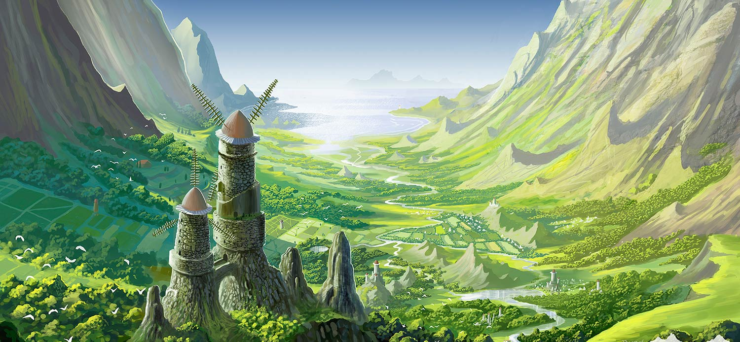 The Valley Of The Wind Nausicaa By Syntetyc On Deviantart