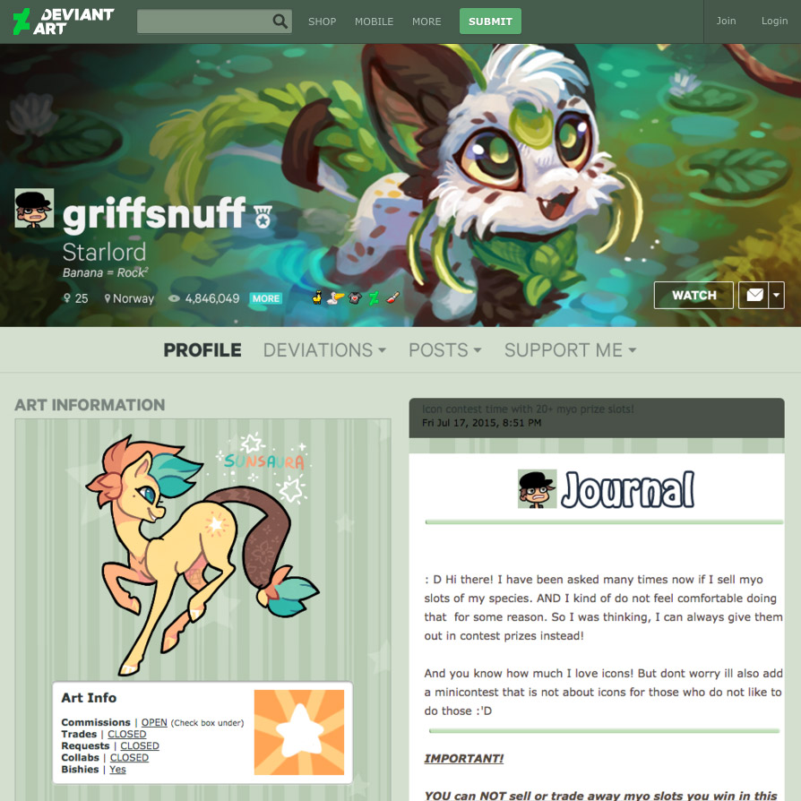 how to put pictures on deviantart profile