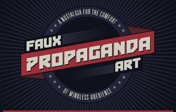 Faux Propaganda Art