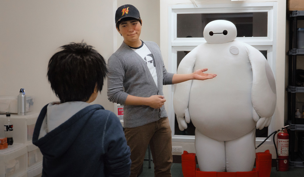 The real life big hero 6 spotted behindinfinity big hero 6 first