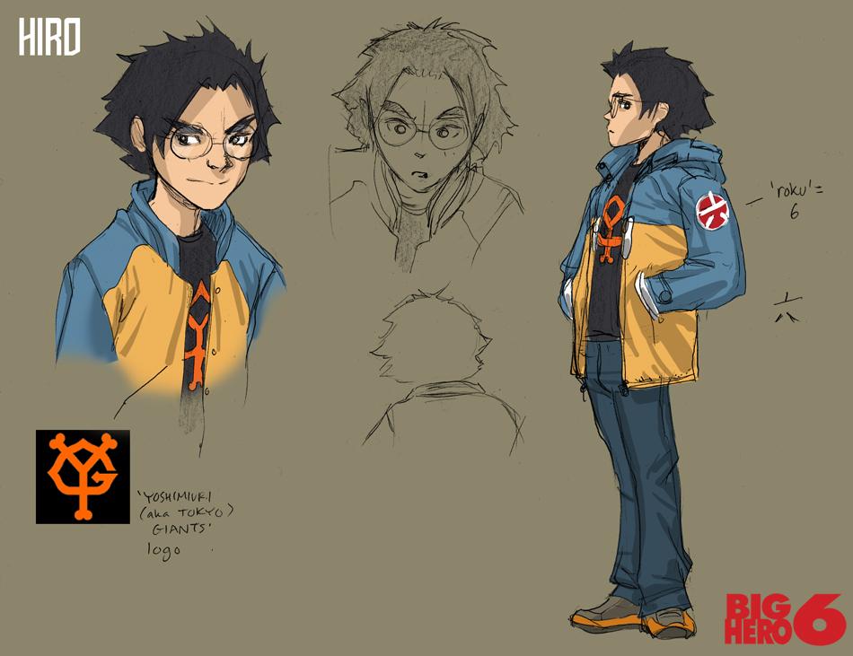 Concept Art Big Hero 6 Wasabi