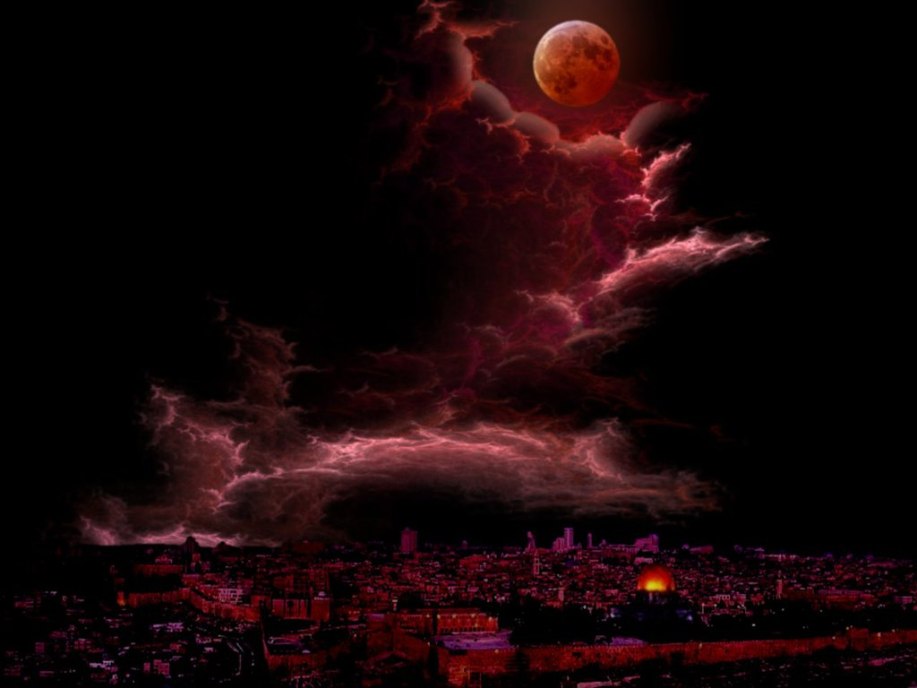red moon at night meaning - photo #31