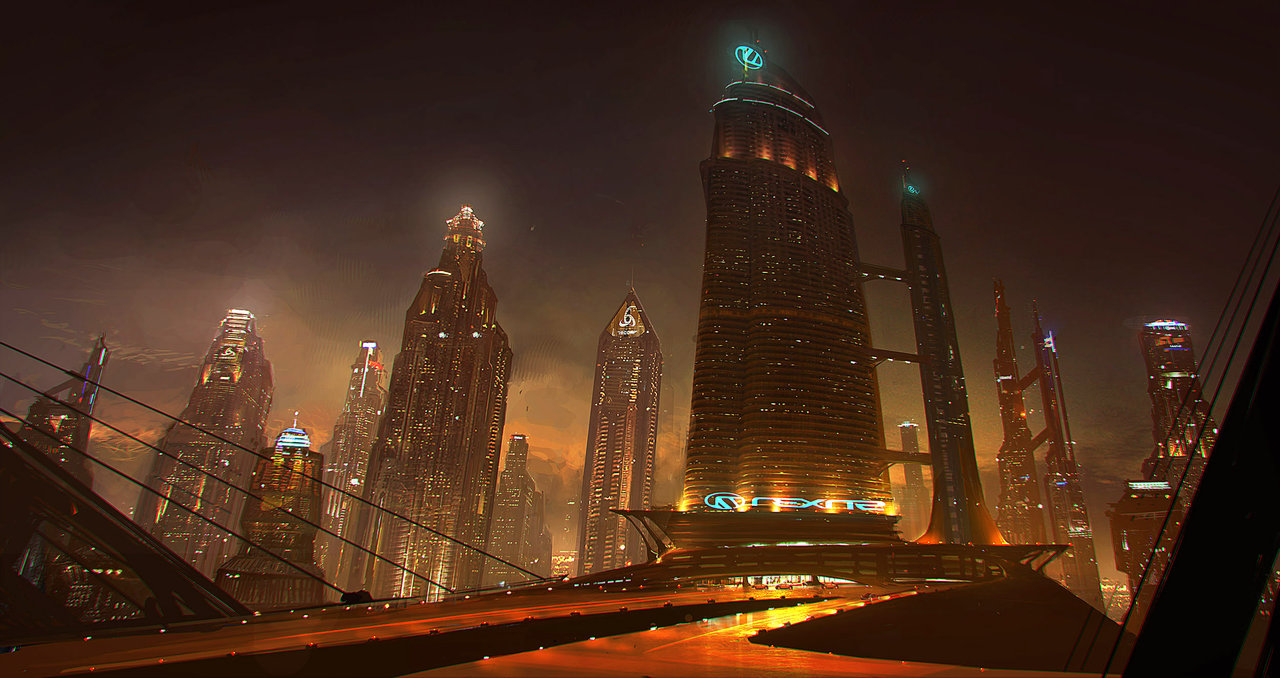 Future City By Emanshiu On DeviantArt