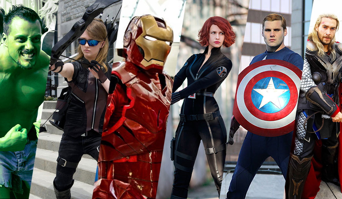 Cosplay Friday Avengers By Techgnotic On Deviantart