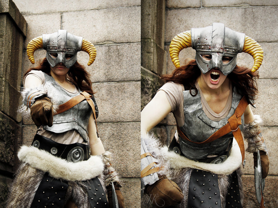 Cosplay Friday: Skyrim by techgnotic on DeviantArt