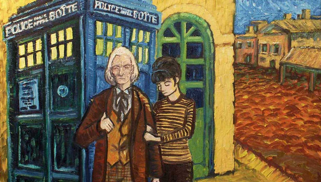 doctor who meets van gogh by Vincent Van Gogh Doctor Who Sunflowers