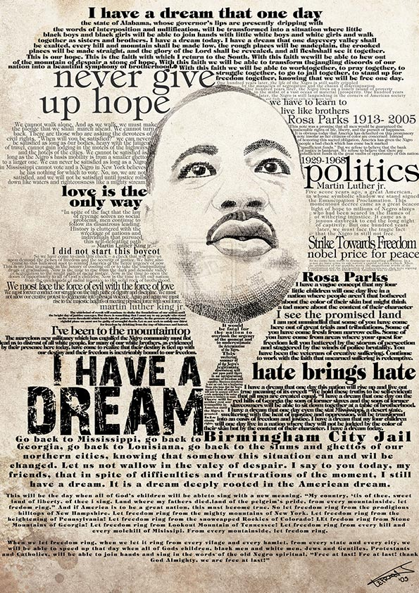 civil rights movement martin luther king jrs i have a dream speech All eyes were on the rev martin luther king jr, on august 28, 1963 as he delivered his i have a dream speech to a crowd of 250,000.