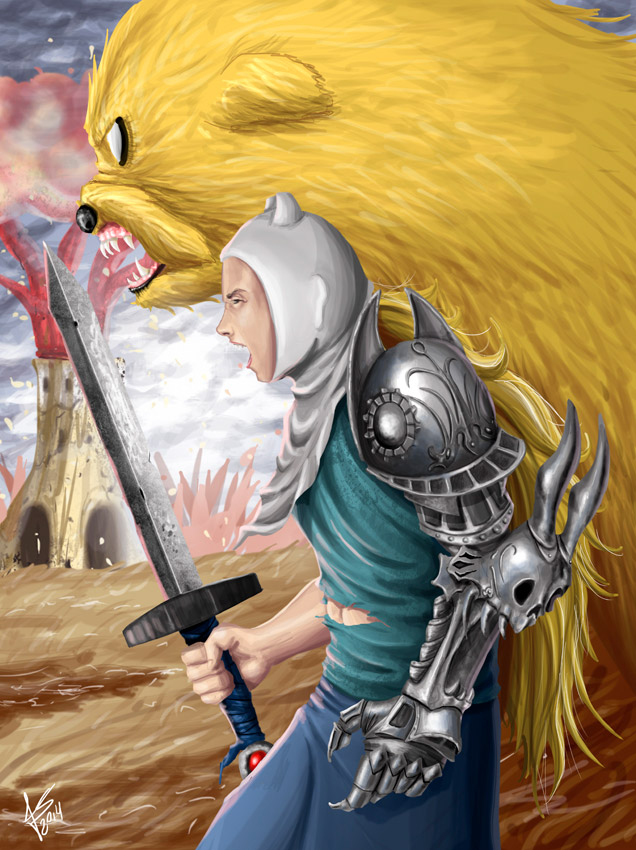 Fan Art Friday: It's Adventure Time! by techgnotic on ...
