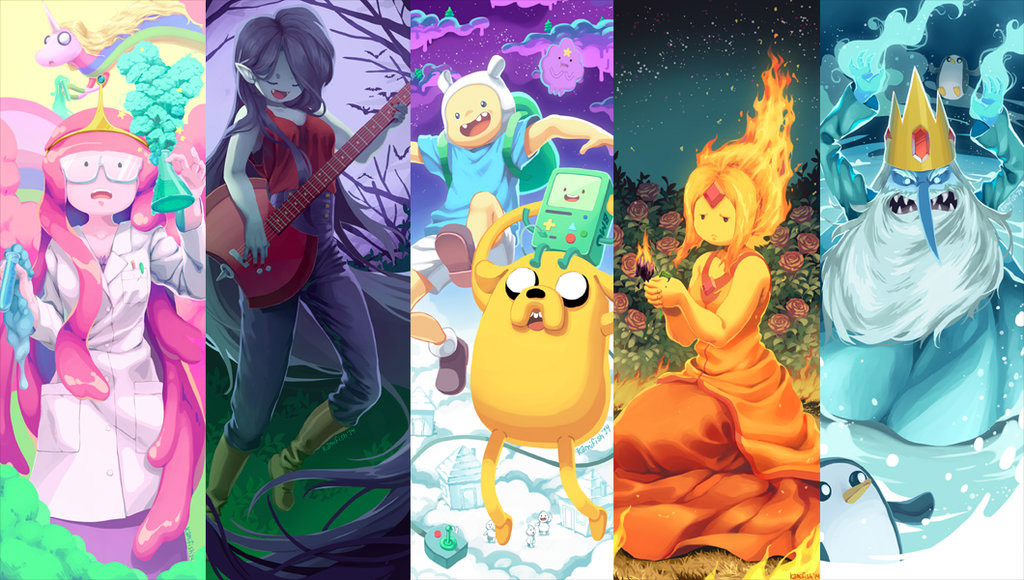 Fan Art Friday It S Adventure Time By Techgnotic On Deviantart