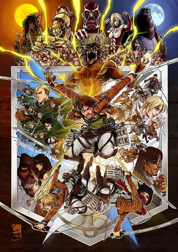 Fan Art Friday: Attack On Titan by techgnotic on DeviantArt