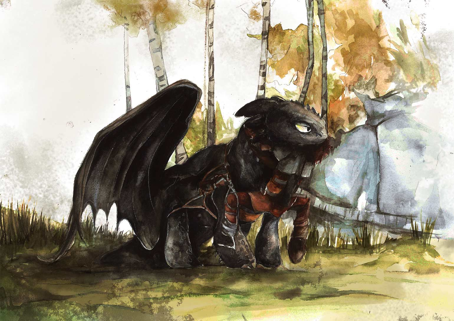 Fan Art Friday How To Train Your Dragon By Techgnotic On