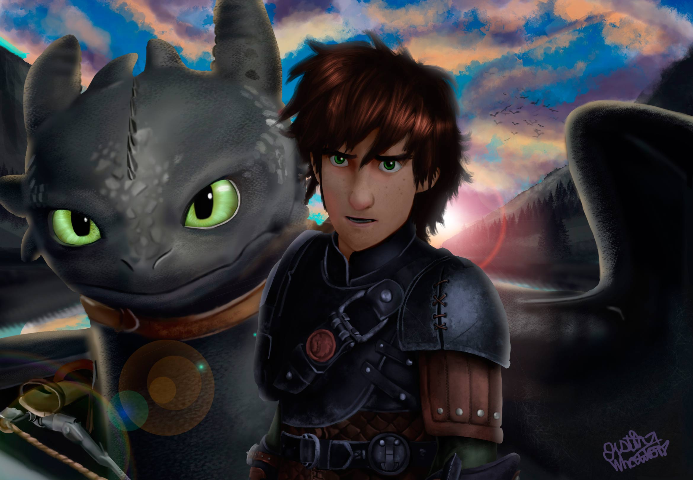 Fan art friday how to train your dragon by techgnotic on deviantart ccuart Choice Image