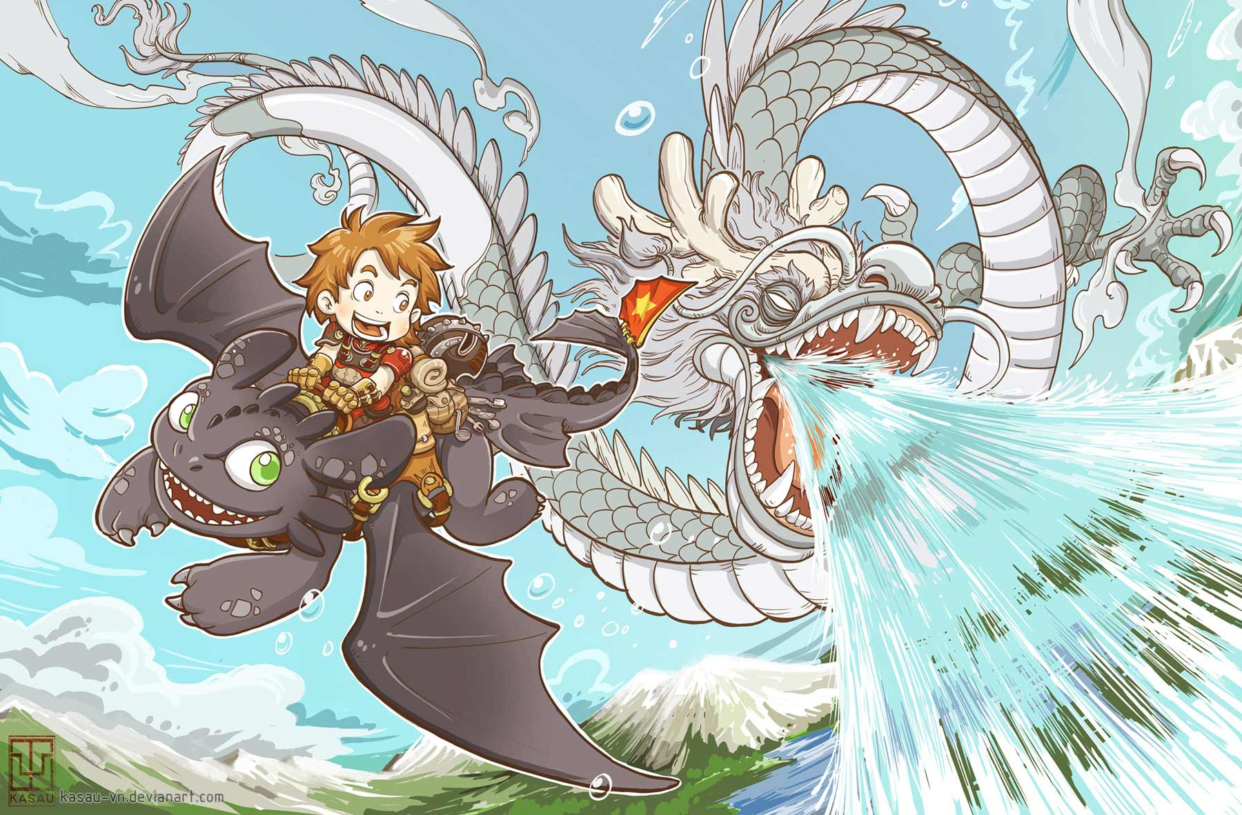 Fan art friday how to train your dragon by techgnotic on deviantart ccuart Image collections