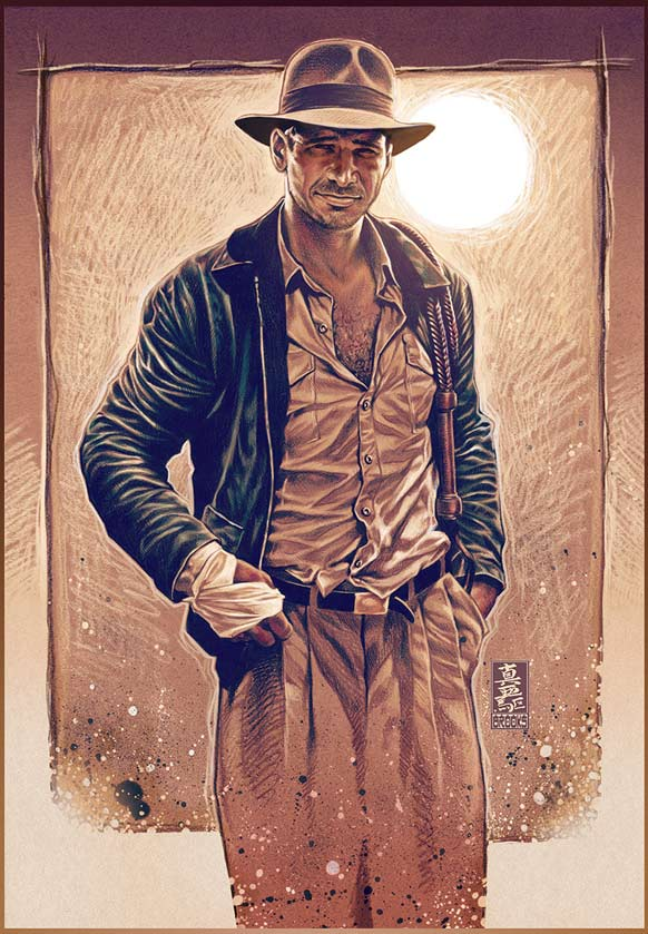Fan Art Friday Indiana Jones By Techgnotic On Deviantart