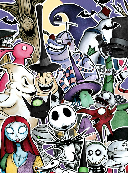 Fan Art Friday The Nightmare Before Christmas By Techgnotic