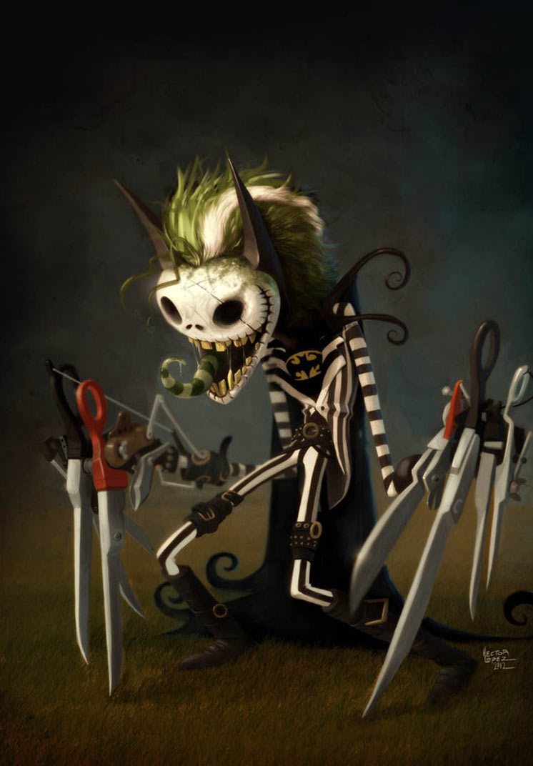 4d7e6adaa6b59 Fan Art Friday  The Nightmare Before Christmas by techgnotic on DeviantArt
