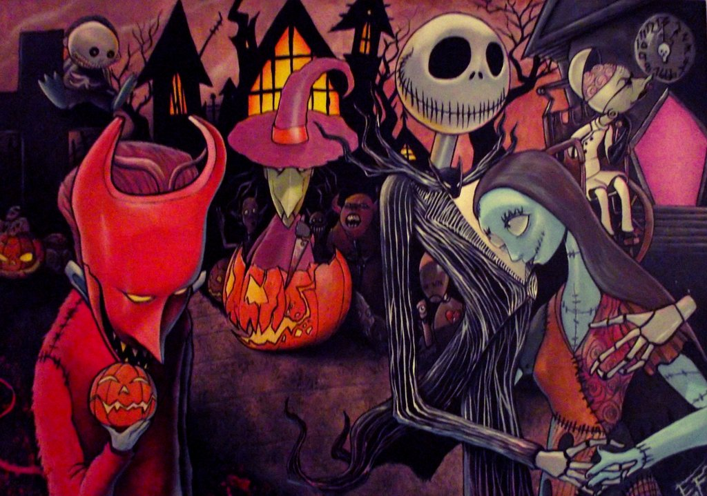 765bc8a85f37f Fan Art Friday  The Nightmare Before Christmas by techgnotic on ...
