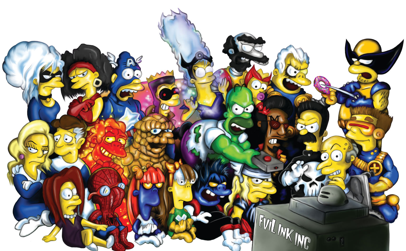 Fan Art Friday The Simpsons By Techgnotic On Deviantart