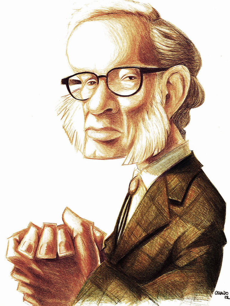 isaac asimov the father of science Examine the life, times, and work of isaac asimov through detailed author biographies on enotes.