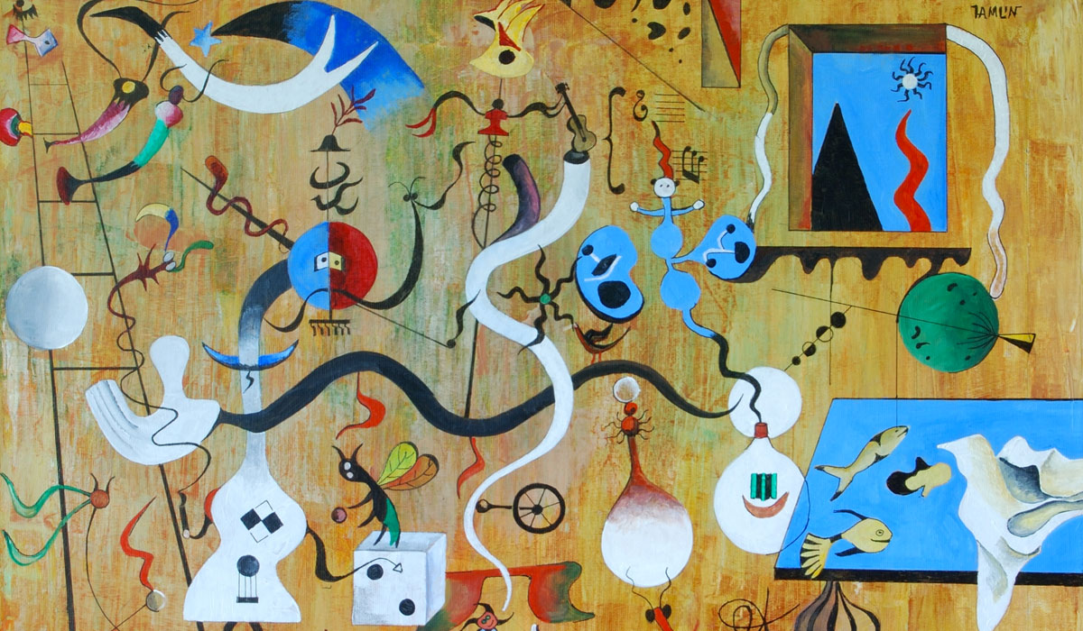 Joan Miro: Against Painting by techgnotic on DeviantArt