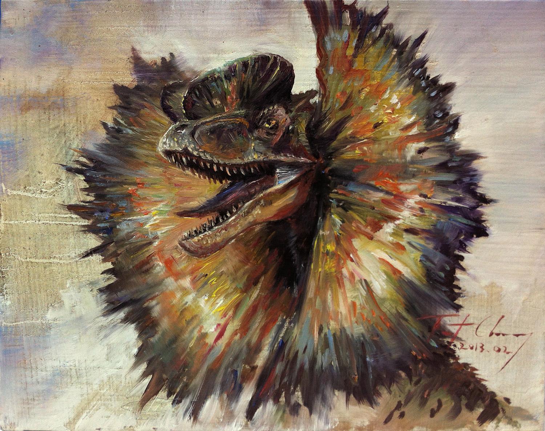 JURASSIC WORLD  RE-CAPTURE THE RAPTORDilophosaurus Drawing