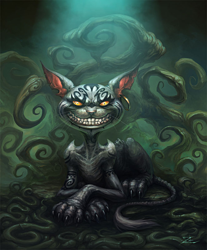 Cheshire Cat By Snugglestab On Deviantart