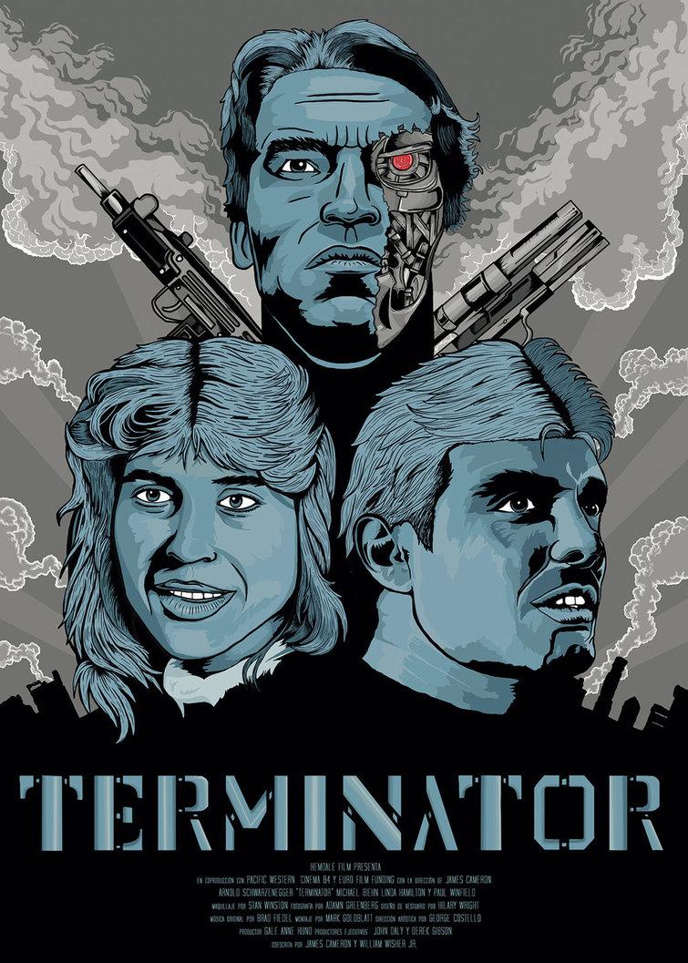 Terminator Movie Poster Remix By Techgnotic On Deviantart