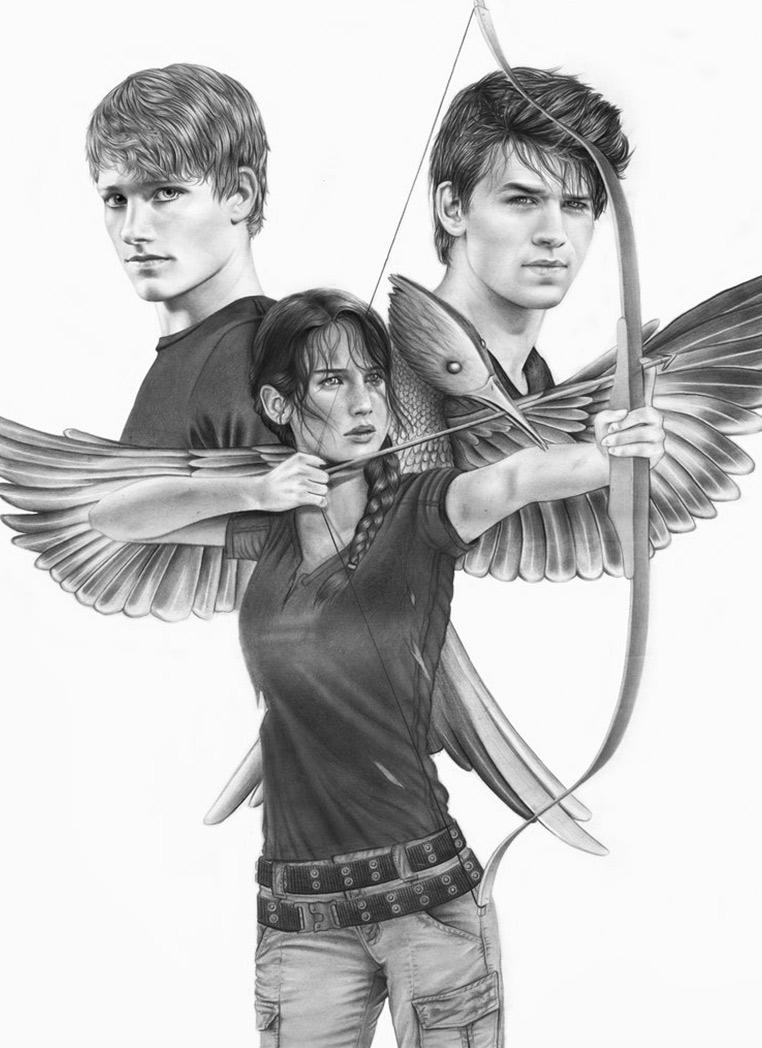 Hunger Games Peeta Drawing The Hunger Game...