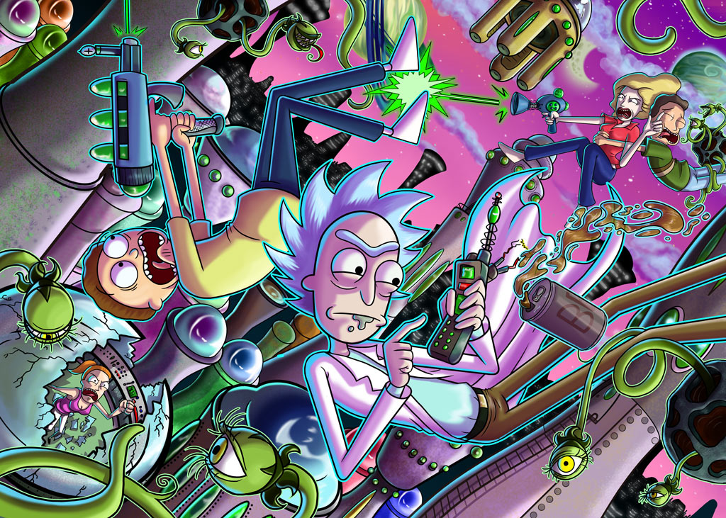 Rick And Morty Contest Semi Finalists By Madizzlee On