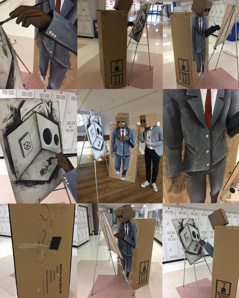 Unconventional Art - Boxed In