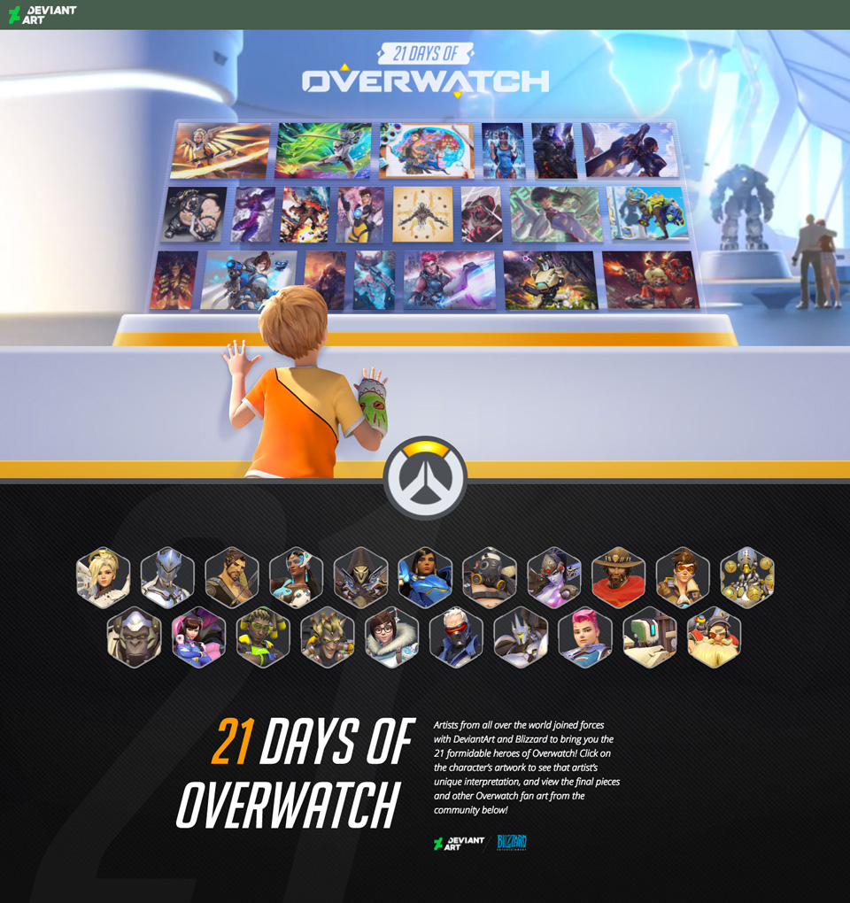 Overwatch Anniversary Celebration A Year In Review By Go On Deviantart
