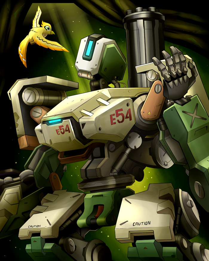 Overwatch Poster - Bastion