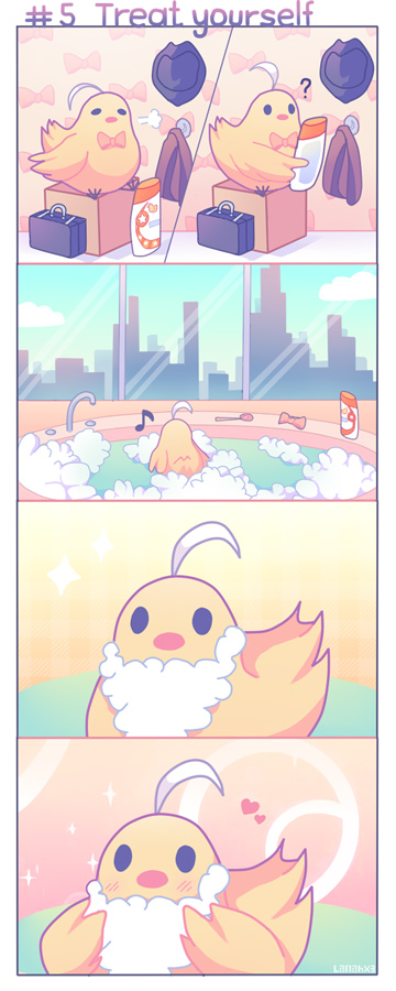 Chicken-kun's daily adventures - #5 Treat yourself