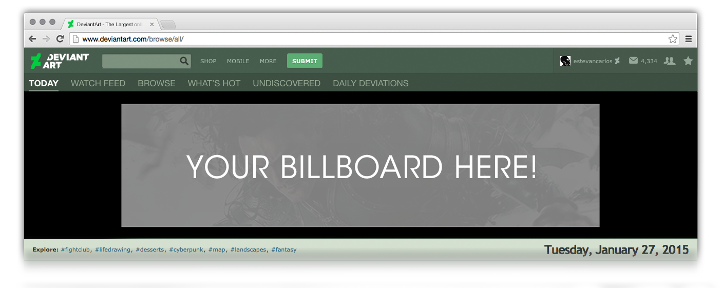 Your Billboard Here!