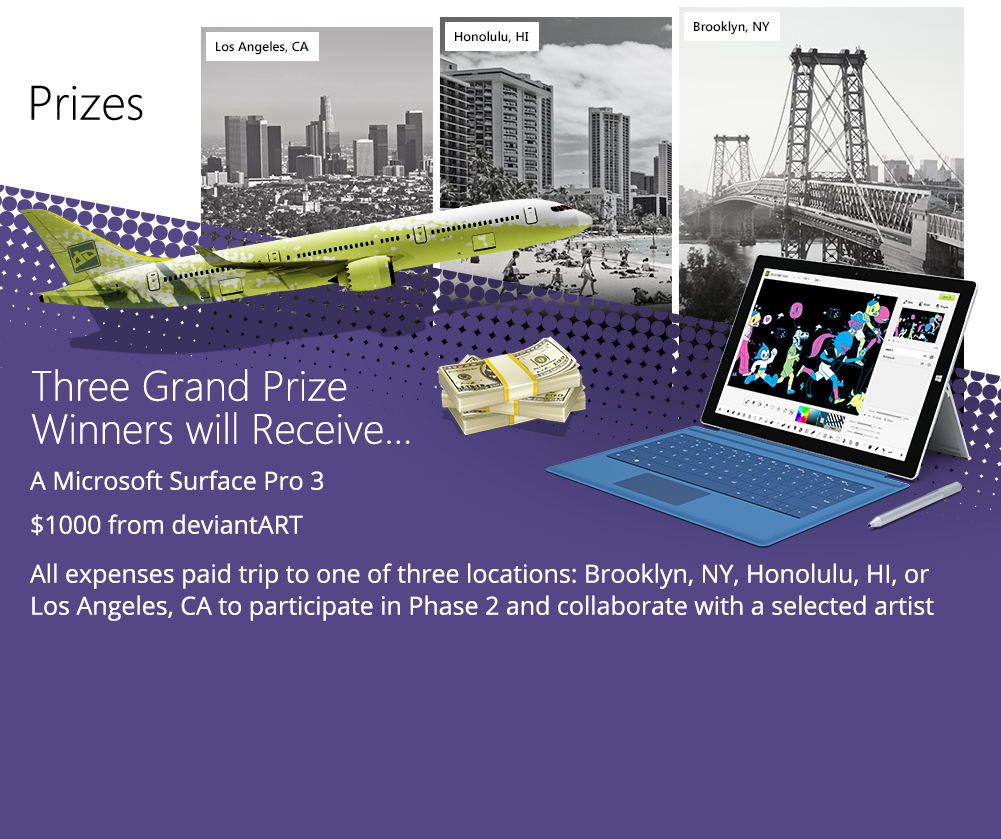 Three Grand Prize Winners