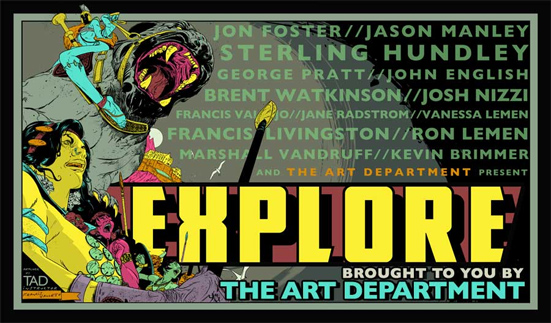 Explore brought to you by The Art Department