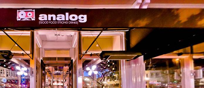 Analog Bar!